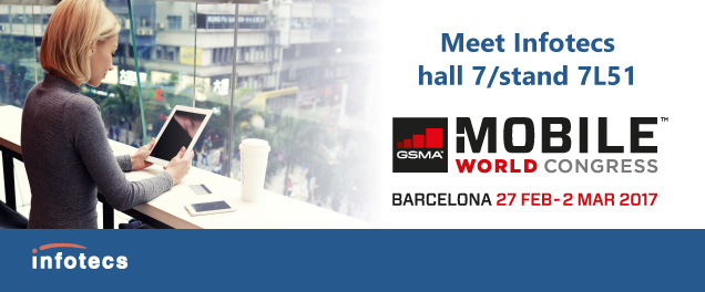 Meet Infotecs at Mobile World Congress 2017 in hall 7, stand 7L51